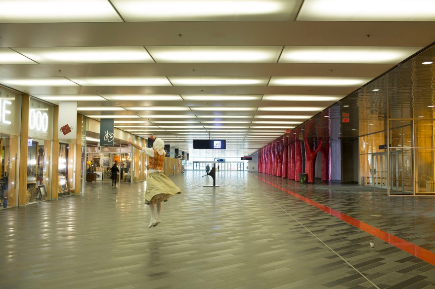 Dancing at the Palais de Congrès